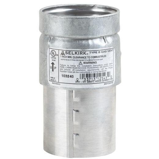 Gas Vent Pipe & Connectors