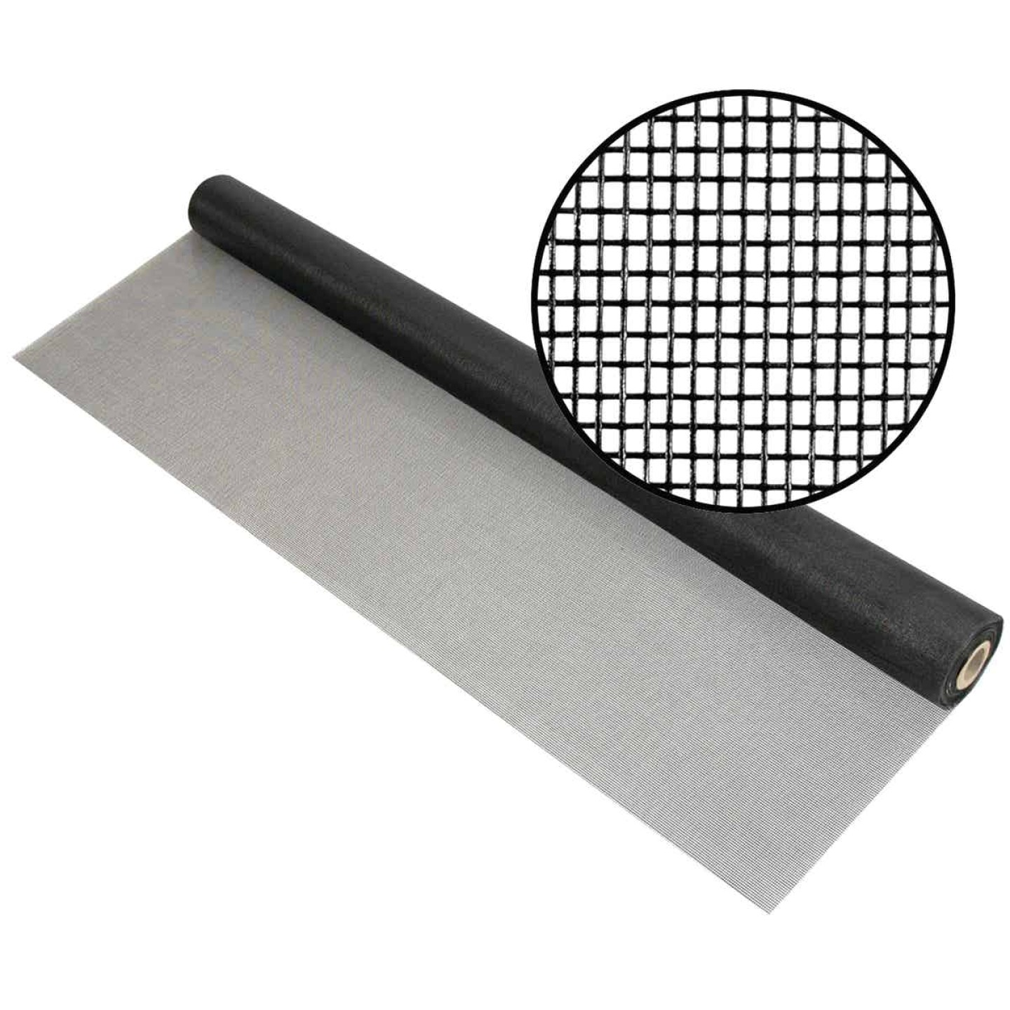 Phifer 84 In. x 100 Ft. Charcoal Fiberglass Pool Screen Image 1