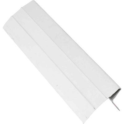 NorWesco D Galvanized Steel Roof & Drip Edge Flashing, White