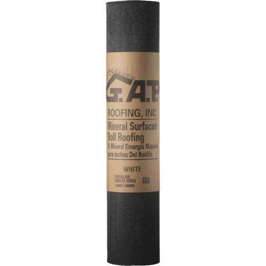 G.A.P. 39.375 In. x 34 Ft. White MSR Roof Felt