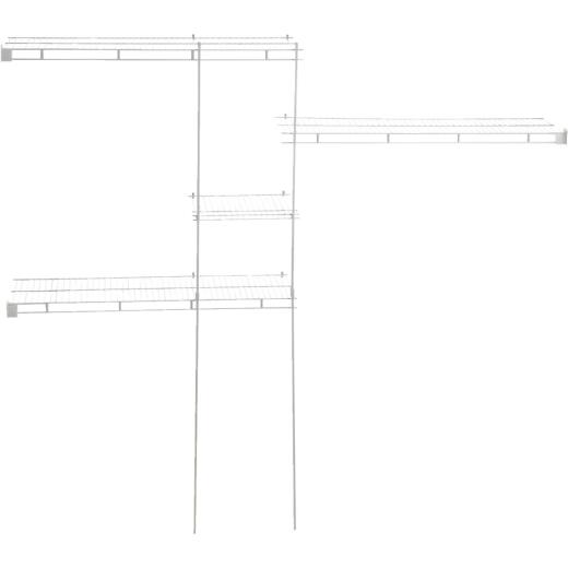 ClosetMaid 5' to 8' Shelf and Rod Closet System