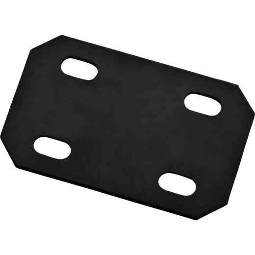 National Catalog 1184BC 4.7 In. x 3 In. Black Heavy Duty Mending Plate
