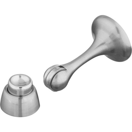 National V244 Satin Nickel Magnetic Rigid Door Stop