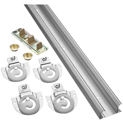 National 96 In. Bypass Door Hardware