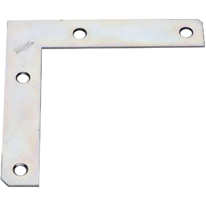 National Catalog 117 5 In. x 7/8 In. Zinc Flat Corner Iron Image 1