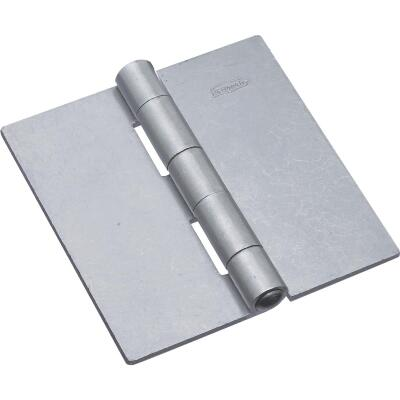 National 4 In. Square Plain Steel Weldable Door Hinge