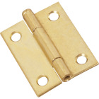 National 2 In. Brass Loose-Pin Narrow Hinge (2-Pack) Image 1