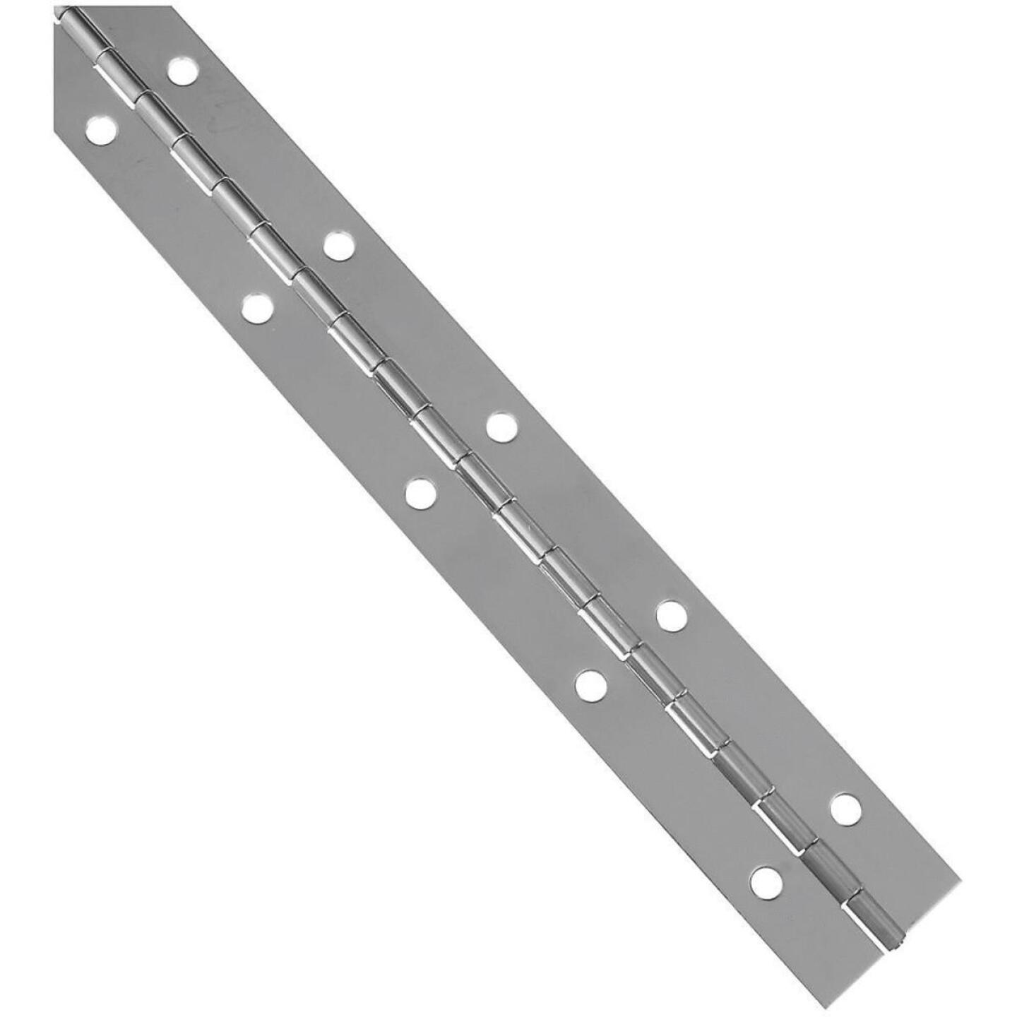 National 1-1/2 In. x 12 In. Stainless Steel Continuous Hinge Image 1
