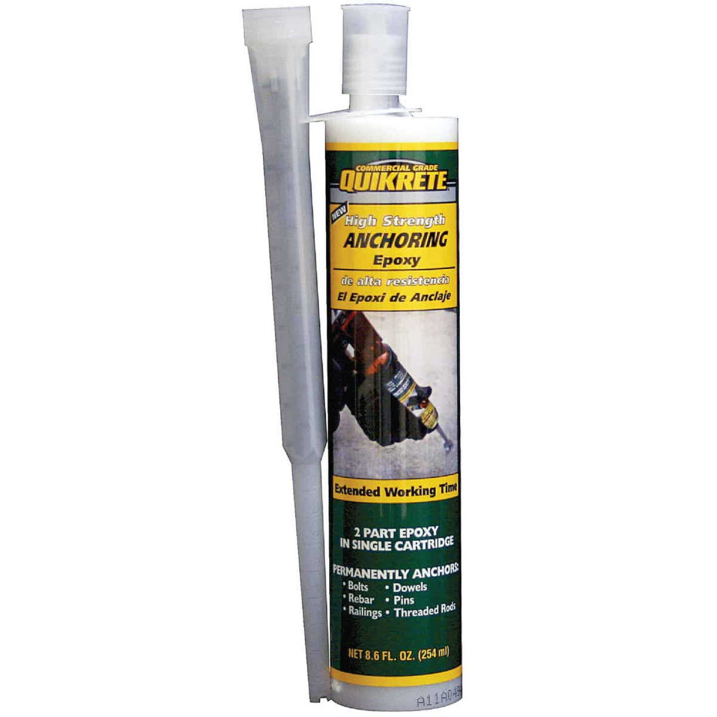 Quikrete 8.6 oz High Strength Anchor Epoxy Image 1