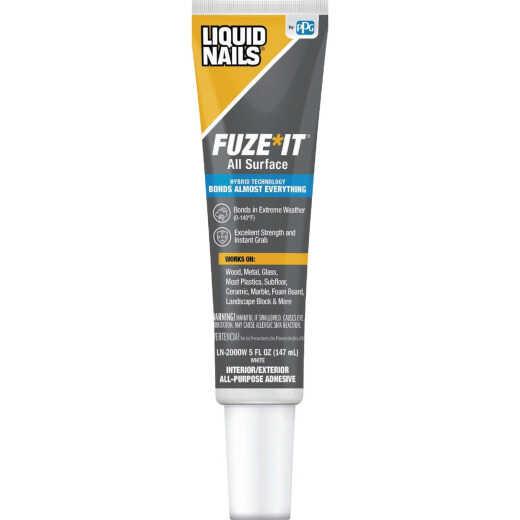 Liquid Nails Fuze-It 5 Oz. All Surface Construction Adhesive