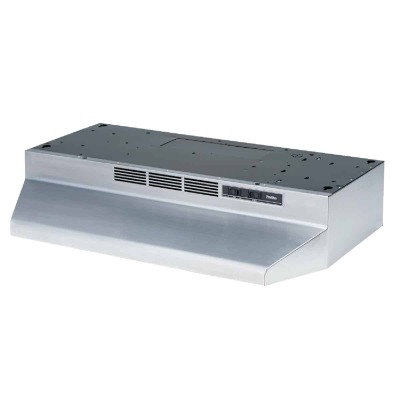 Broan-Nutone 41000 Series 30 In. Non-Ducted Stainless Steel Range Hood