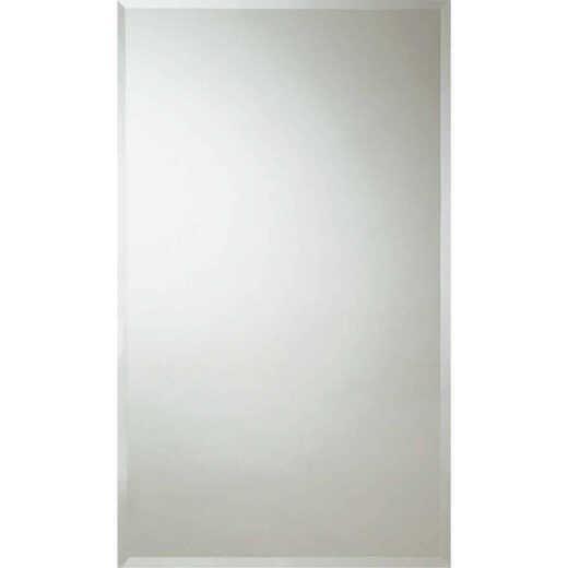Erias Home Design 24 In. W. x 36 In. H. Frameless Beveled Edge Wall Mirror