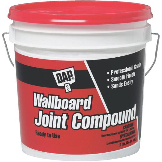 Dap 12 Lb. Pre-Mixed Latex Wallboard Drywall Joint Compound