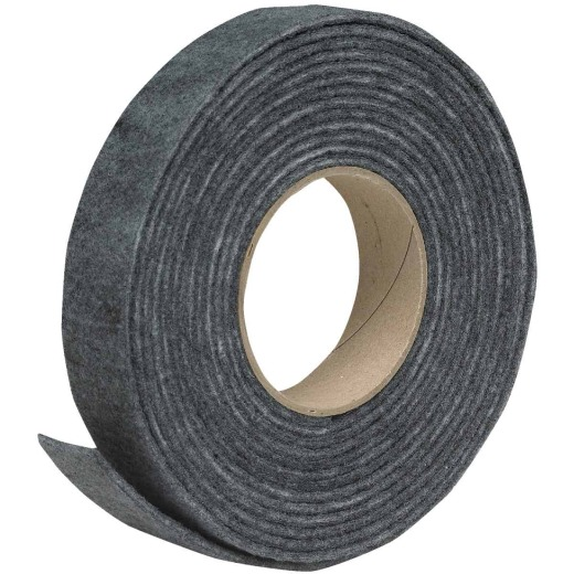 Do it Gray 1-1/4 In. x 3/16 In. x 17 Ft. Felt Weatherstrip