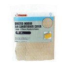 """Frost King 18"""" x 25"""" Rectangle Beige Air Conditioner Cover Image 1"""
