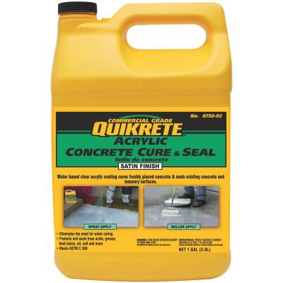 Quikrete Clear Satin Concrete Sealer, 1 Gal.