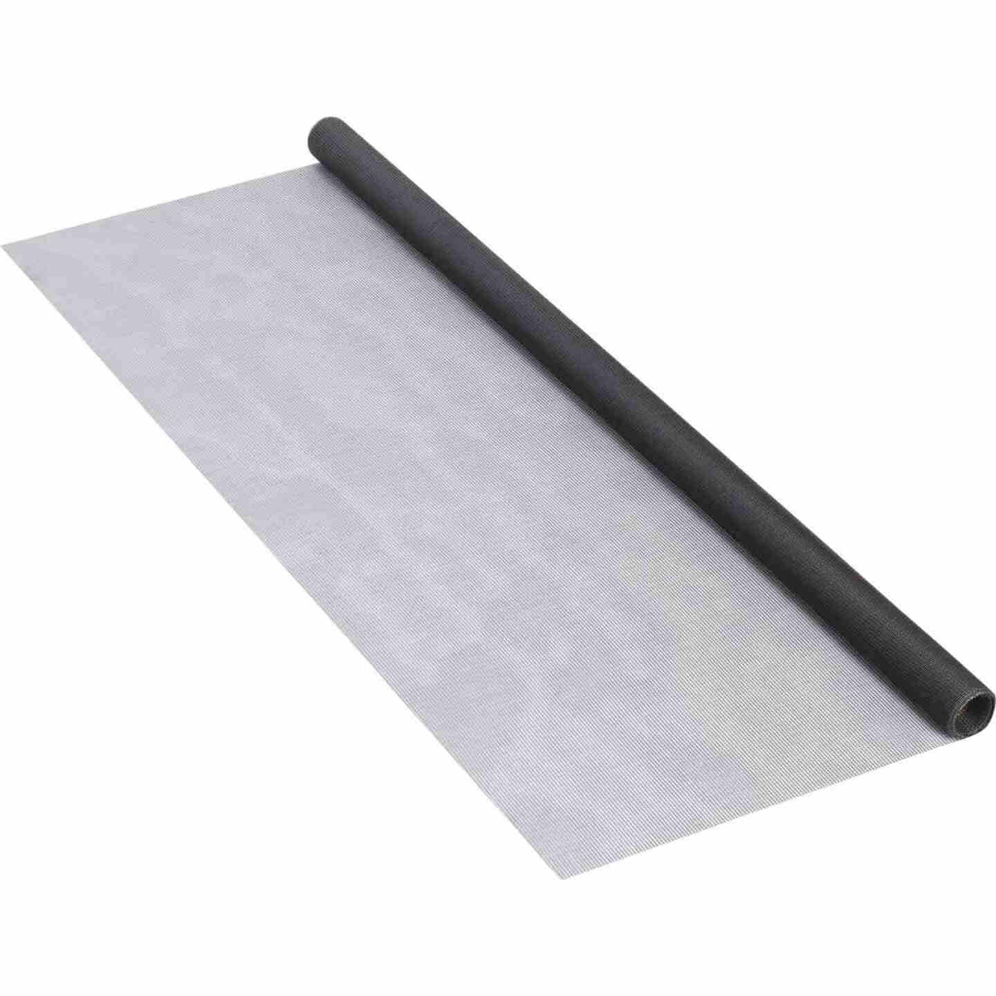 Phifer 36 In. x 84 In. Charcoal Fiberglass Screen Cloth Ready Rolls Image 3
