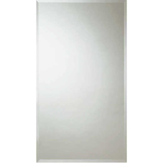 Erias Home Design 30 In. W. x 48 In. H. Frameless Beveled Edge Wall Mirror