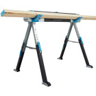 Channellock 39-1/4 to 45-3/4 In. Long Steel Adjustable Sawhorse Jobsite Table, 1300 Lb. Capacity Image 17