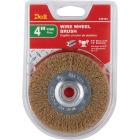 Do it 4 In. Fine Bench Grinder Wire Wheel Image 2