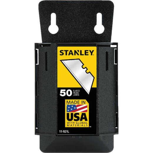 Stanley 2-Point Heavy-Duty 2-7/16 In. Utility Knife Blade (50-Pack)