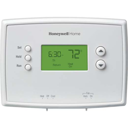 Honeywell 5-1-1 Day Programmable White Digital Thermostat
