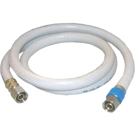 Lasco 3/8 In. C x 3/8 In. C x 36 In. L Braided Poly Vinyl Appliance Water Connector