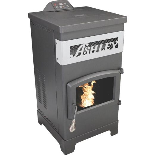 U.S. Stove Ashley 2200 Sq. Ft. Pellet Stove with 60 Lb. Hopper