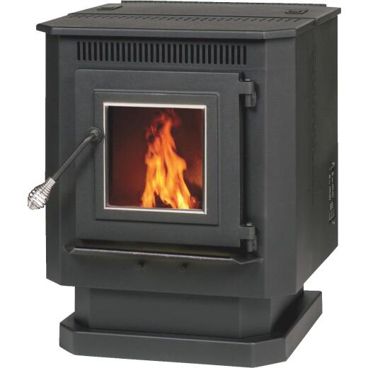 Summers Heat 1500 Sq. Ft. Pellet Stove with 40 Lb. Hopper
