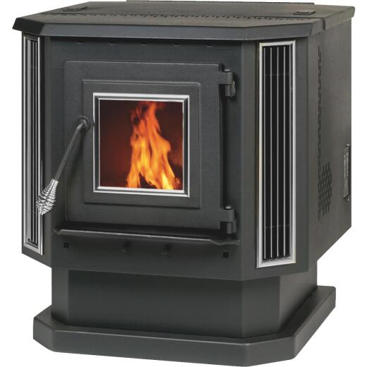 Summers Heat 2200 Sq. Ft. Pellet Stove with 60 Lb. Hopper