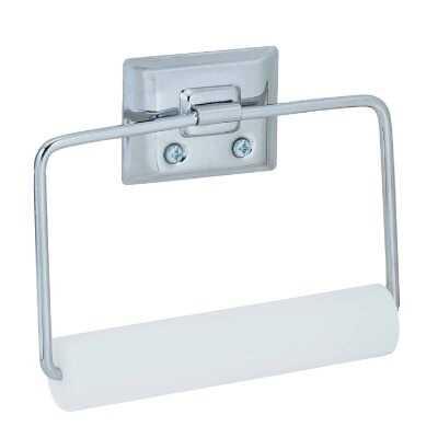 Decko Chrome Swing Type Wall Mount Toilet Paper Holder