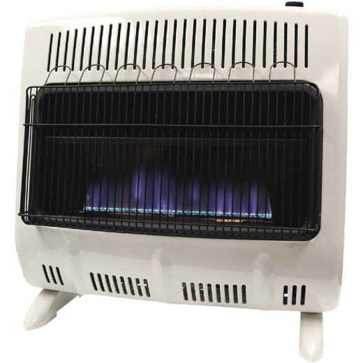 Mr. Heater 30K BTU Blue Flame Dual Fuel Vent Free Wall Heater