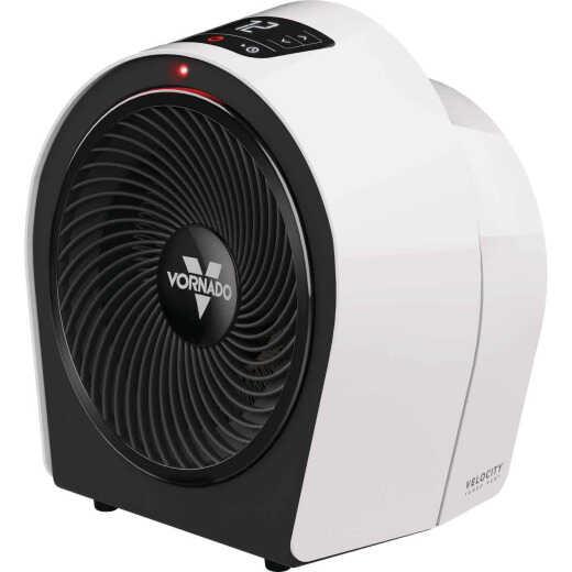 Vornado Velocity 3R 1500-Watt 120-Volt Whole Room Electric Space Heater, Ice White