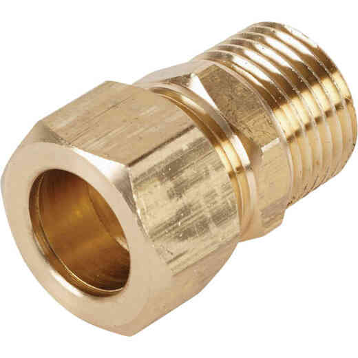 Do it 5/8 In. x 1/2 In. Brass Male Union Compression Adapter
