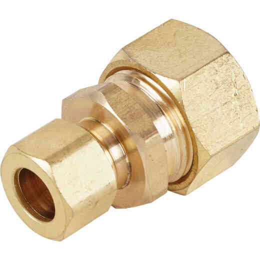 Do it 5/8 In. OD x 3/8 In. OD Brass Compression Reducing Union