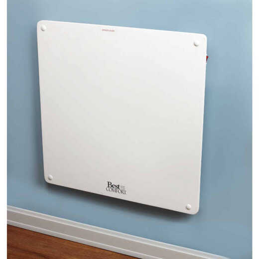 Best Comfort 400-Watt 120-Volt Wall Mounted Electric Panel Heater