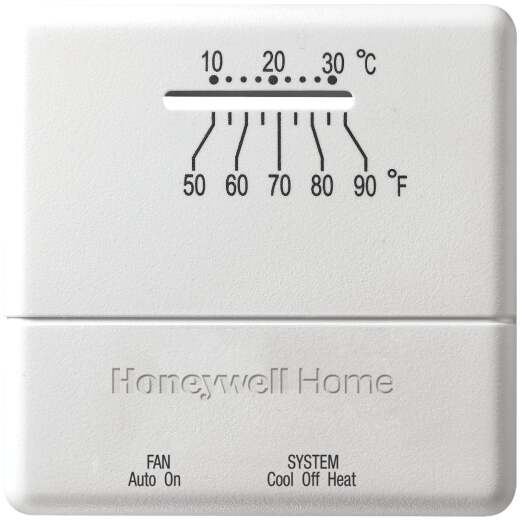 Honeywell Heat or Cool Mechanical Thermostat