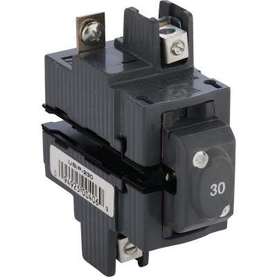 Connecticut Electric 30A Double-Pole Standard Trip Packaged Replacement Circuit Breaker For Pushmatic
