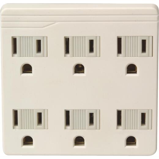 Do it Ivory 15A 6-Outlet Tap