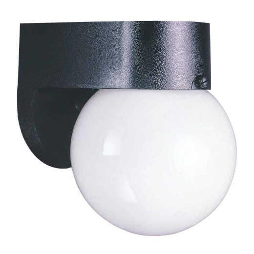 Home Impressions Black Incandescent A15 Outdoor Wall Light Fixture