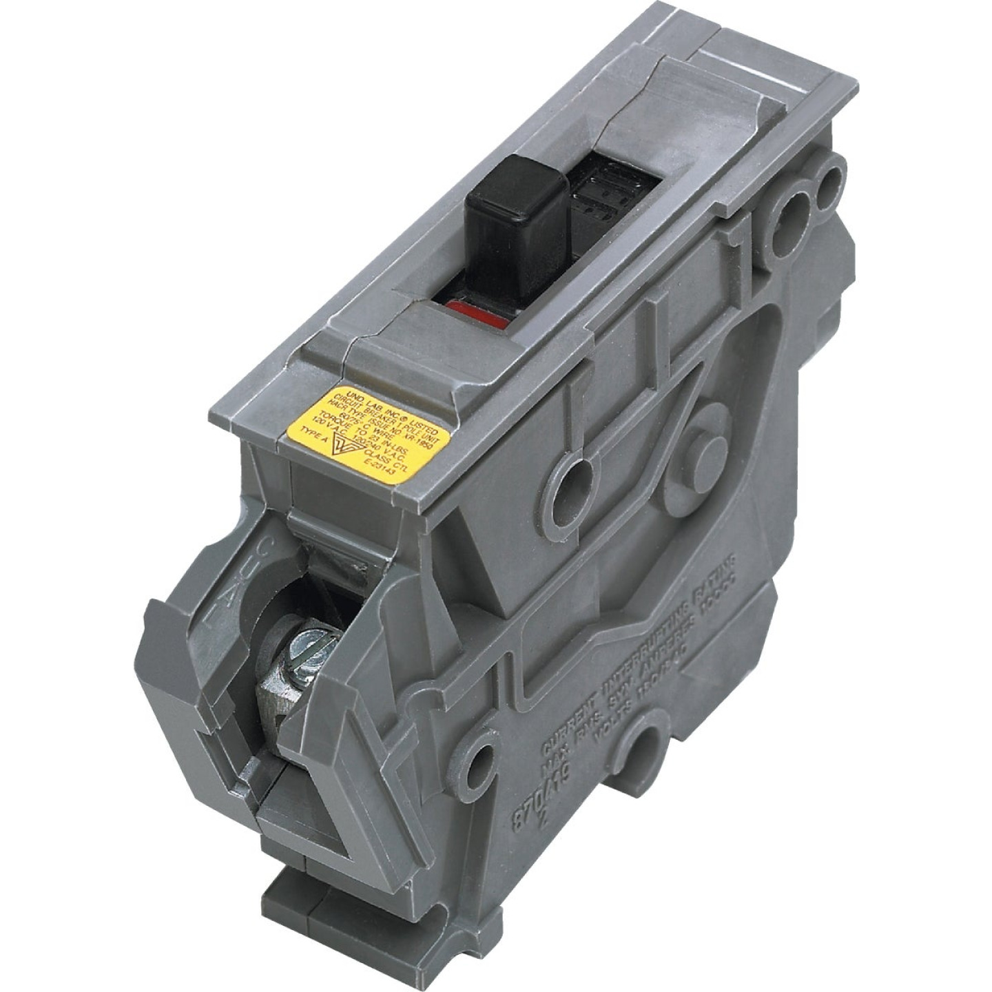 Connecticut Electric 20A Single-Pole Standard Trip Packaged Replacement Circuit Breaker For Wadsworth Image 1