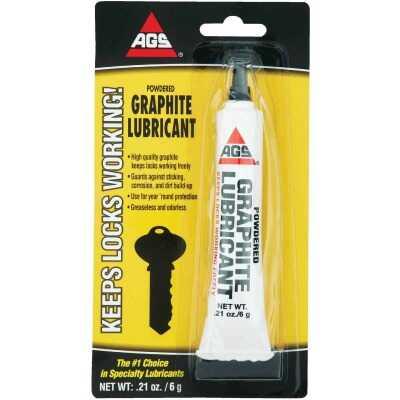 AGS 0.21 Oz. Tube Powdered Graphite Dry Lubricant