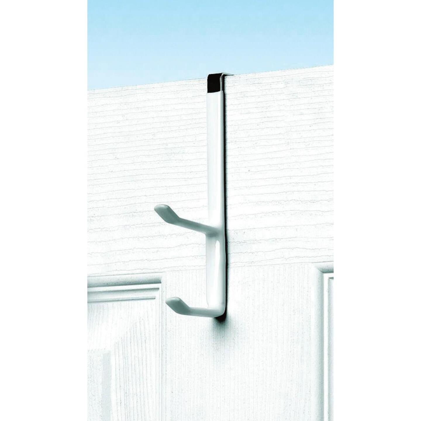Spectrum White Over-The-Door Double Hook Image 1