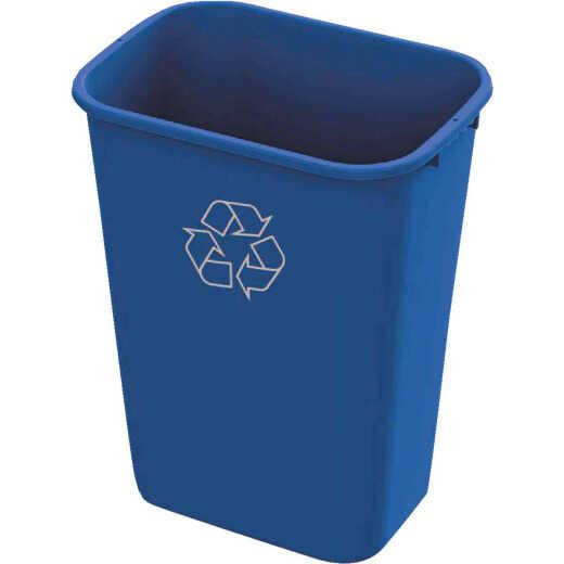 Impact 41 Qt. Blue Plastic Recycle Wastebasket