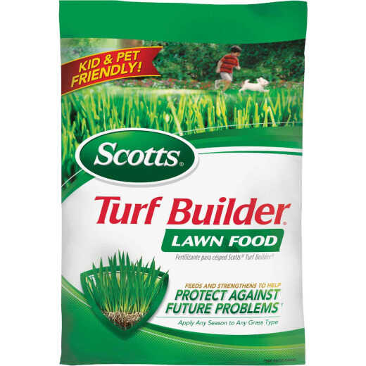 Scotts Turf Builder 37.5 Lb. 15,000 Sq. Ft. 32-0-4 Lawn Fertilizer