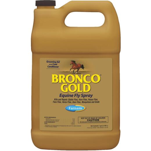 Farnam Bronco Gold 128 Oz. Ready To Use Equine Fly Spray