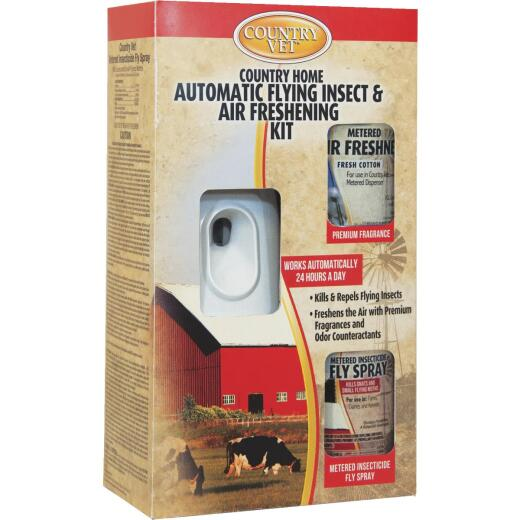 Enforcer Country Vet 30-Day Flying Insect & Air Freshener Kit