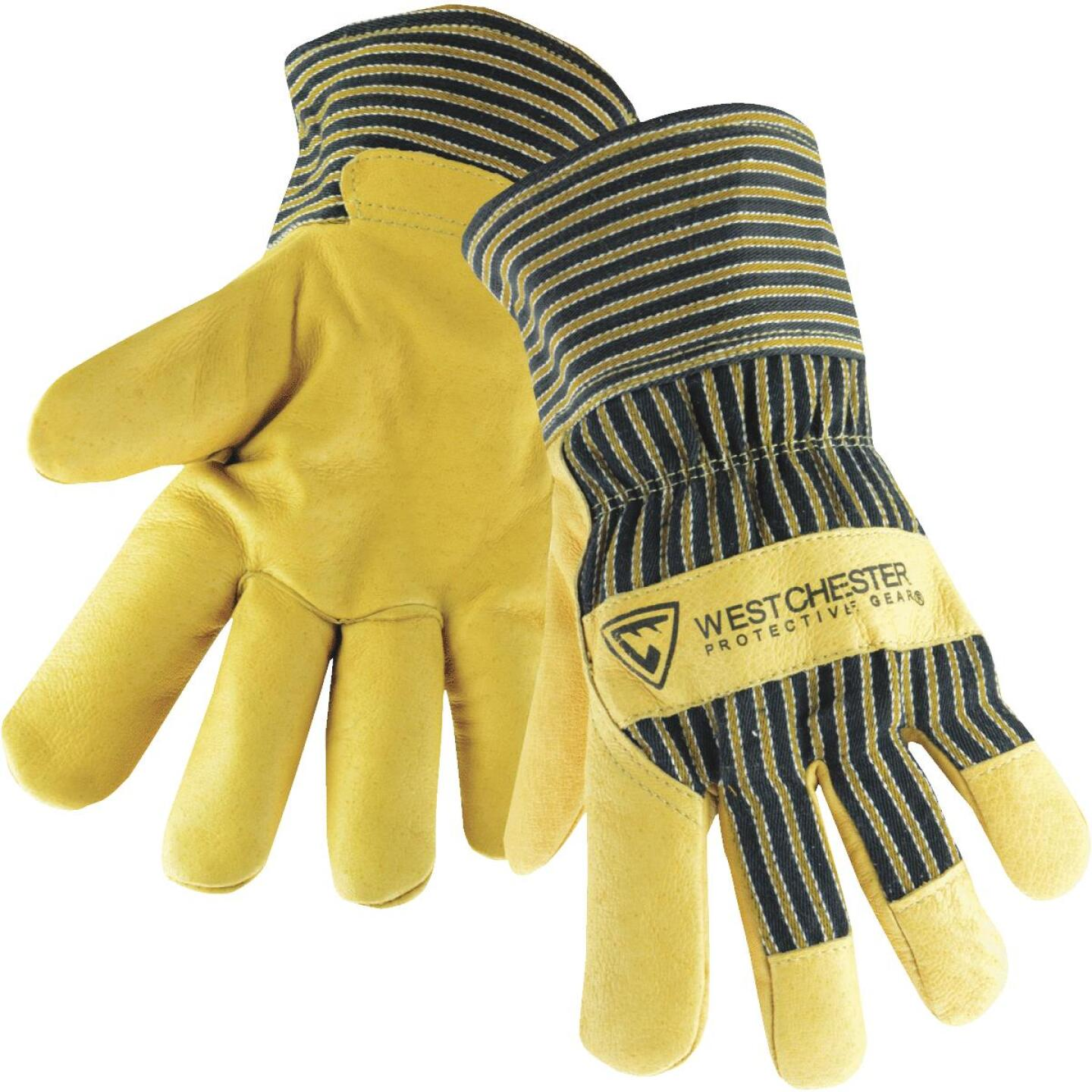West Chester Protective Gear Men's Large Grain Pigskin Leather Work Glove Image 1