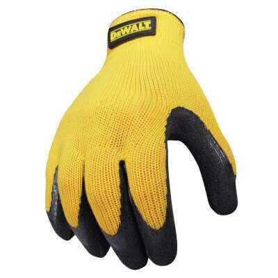 DeWalt Men's Medium Gripper Rubber Coated Glove