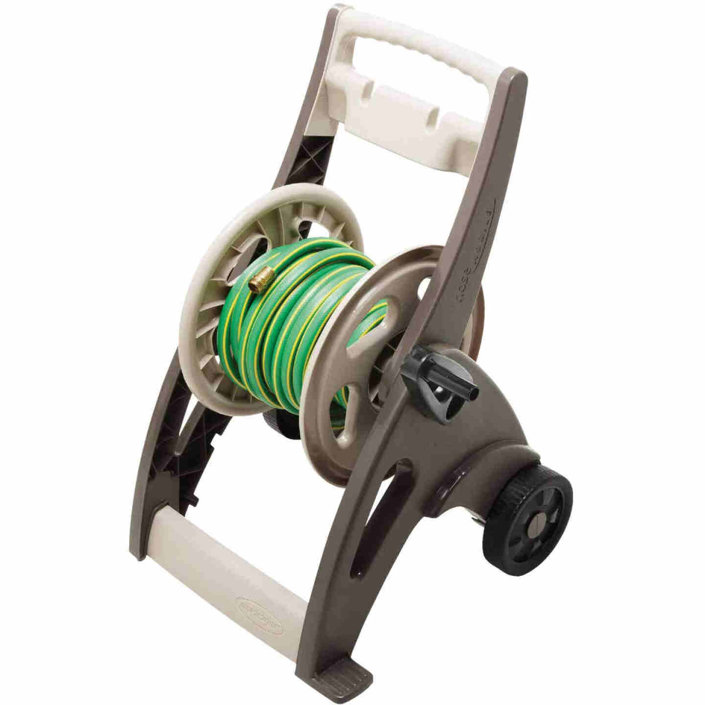 Suncast 175 Ft. x 5/8 In. Bronze Hosemobile Resin Hose Reel Image 4